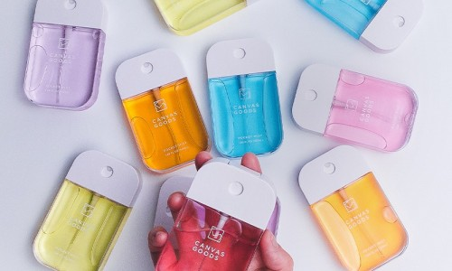Brighten Up Your Bag With These Colourful Sanitizers From Canvas Goods