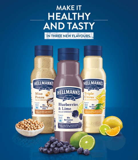 Eat Better, Feel Better: Hellmann's All-New Flavourful And Healthy Salad Dressings